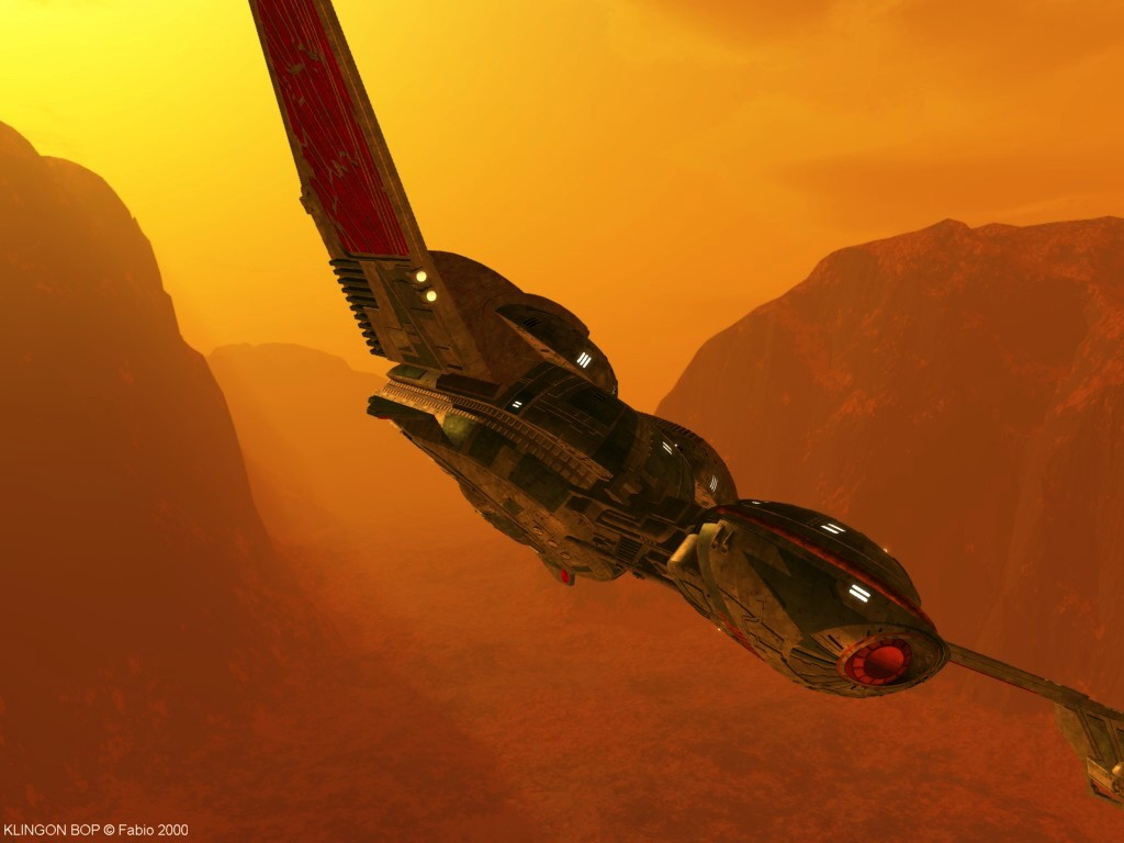 Klingon Bird Of Prey Meshweaver